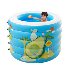 Portable Indoor Outdoor Baby Swimming Pool Air Cushion Inflatable Bathtub Round Basin Summer Water Children inflatable