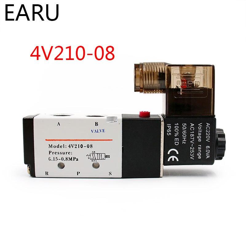 Electric Pneumatic Air Solenoid Valve Coil 220V 110V 24V 12V 36V Pneumatic Valve Controller Coil For 4V210 4V210-08 4V310-10