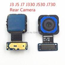 1pcs Back Rear big Main Camera Module Flex Cable For Samsung Galaxy J3 J5 J7 J330 J530 J730 New