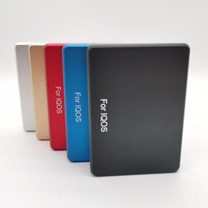 Image 2 - Moda 20 otwory psychicznego pudełko materiał ze stopu aluminium papierośnica dla IQOS do przechowywania papierosów pudełko