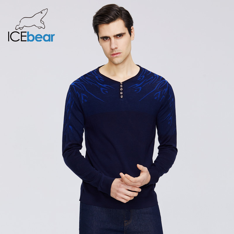 ICEbear 2020 New Men's Thin Sweater Spring Men's Fashion Sweater High Quality Clothing A-2