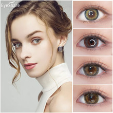 EYESHARE 1 Pair ROMA Series Color Contact Lens Eye Contacts