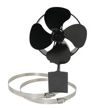 Quiet Wall Mounted 4 Blade Stove Fan Fireplace Fire Heat Power Saving Eco Fan cheap wall mounted industrial horns fan 500mm 750mm page 3
