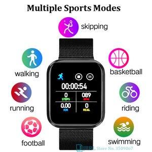 Спортивные детские цифровые наручные часы для девочек и мальчиков, цифровые часы с полным касанием, детские наручные часы на Android IOS, водонеп...
