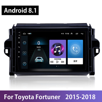 Android 8.1 Quad-core 9IPS Touchscreen GPS Navigation Car Autoradio For Toyota Fortuner 2015 2016 2017 2018 WIFI DAB DVB OBDII image