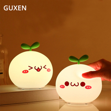 Creative Cute Colorful USB LED Night Light Lamp Soft Silicon Touch Sensor Cartoon Lamp For Kids Children Gift Night Light конфитрейд напугайка карамель на палочке 24 шт по 12 г