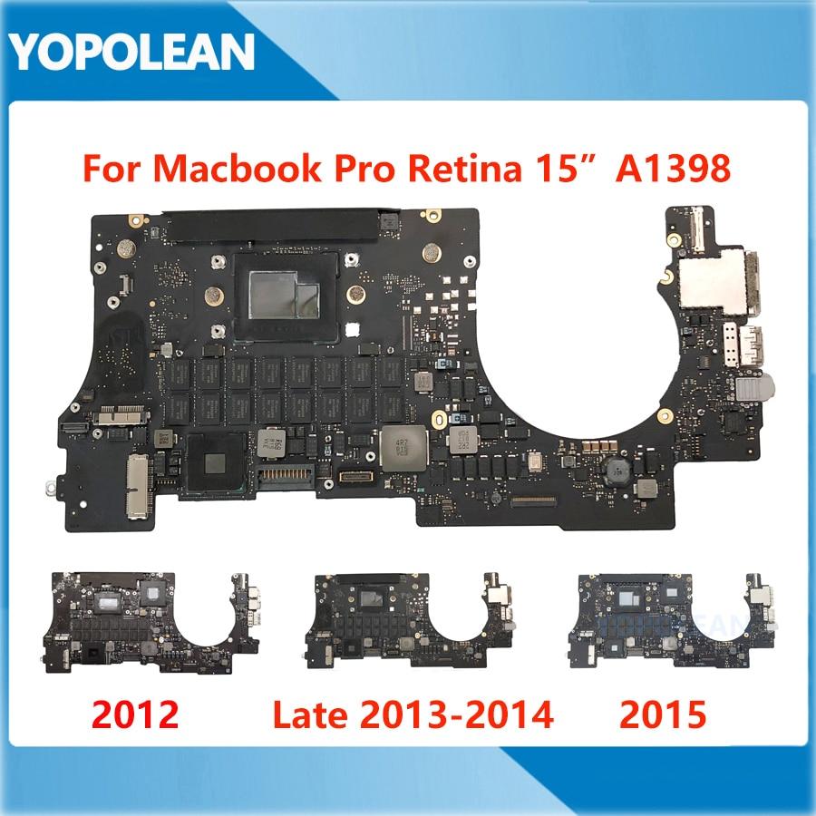 Оригинальная материнская плата для MacBook Pro Retina 15