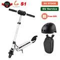 [Официальный магазин] KUGOO S1 складной электрический скутер для взрослых 350 Вт 30 км 30 км/ч e скутер электрический скейтборд M365 PK Ninebot