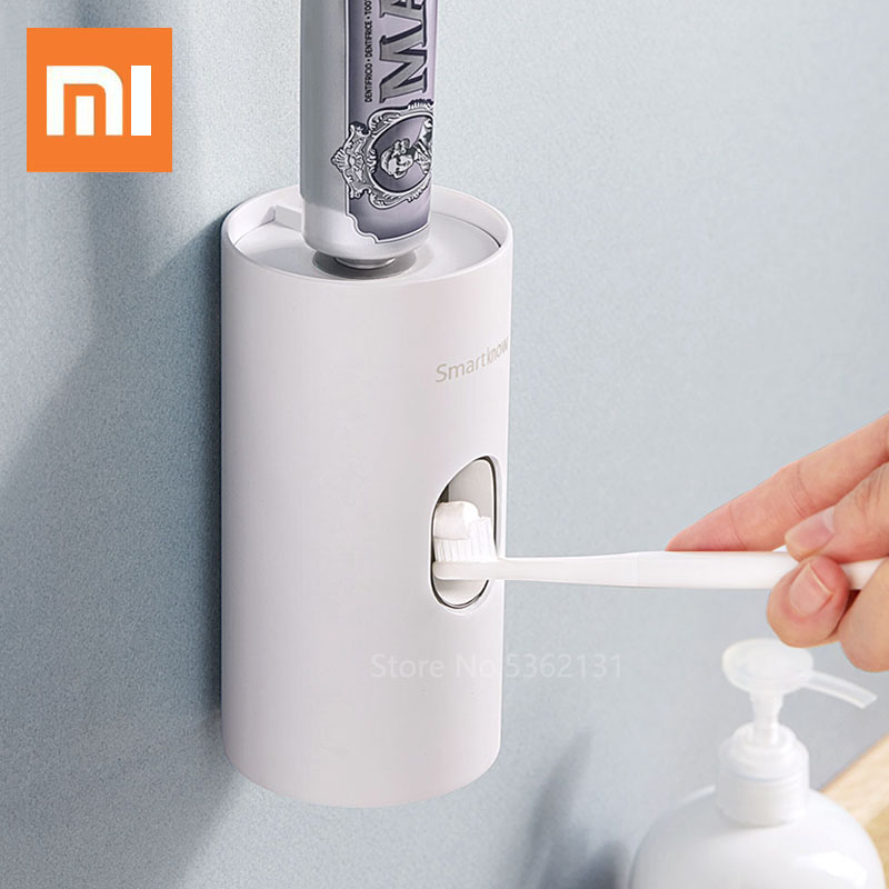 Xiaomi Smartknow Automatic Toothpaste Dispenser Smart UVC Sterilize Toothbrush Cup APP Control Bathroom Toothpaste Squeezers Set