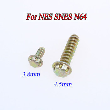 1PCS 3.8mm 4.5mm Security Bit Screws For Nintendo NES SNES N64 For Gameboy GB Console & Cartridge Case Screws image