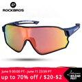 ROCKBROS очки для велоспорта MTB дорожный велосипед поляризованных солнцезащитных очков UV400 защита ультра-светильник, как для мужчин, так и для ж...