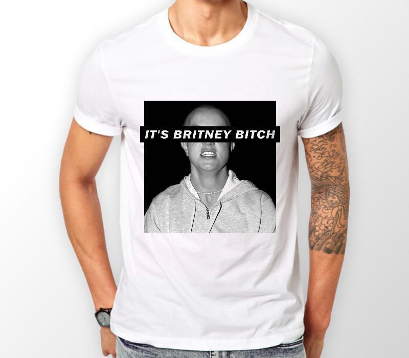 Hot Sale IT'S BRITNEY BITCH SPEARS MENS WOMENS UNISEX TSHIRT FUNNY TUMBLR HIPSTER SLOGAN Casual Cotton Men T Shirt Streetwear