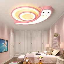 snails childrens room ceiling chandelier pink/blue/white acrylic lighting iron modern LED Home for bedroom