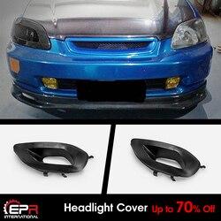 Для Honda EK9 Civic 96-98 OE FRP Неокрашенная фара воздуховод RHS Exteiror комплекты кузова