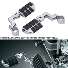 Für Honda Goldwing GL1800 VT1100 VTX1300 VTX1800 Front Pedal Sportster Suzuki Motorrad Autobahn Schellen Fuß Fußrasten