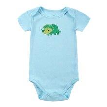 Baby Bodysuit Long-Sleeve Newborn Jumpers Girl Children Fashion Boy Print Toddler