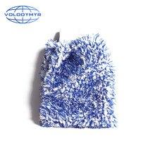 Guante de lavado de coche, accesorios para limpieza, detalles de limpieza, limpiador de lavado de coches, tela de esponja de 28x20x5cm