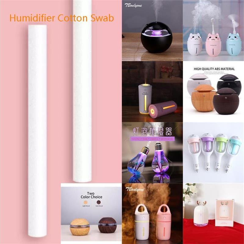5 Pieces / Bag Ultrasonic Humidifier Mist Maker Aroma Diffuser Replace Parts Filters Cotton Swabs Air Humidifiers Parts Filter
