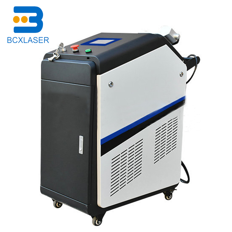 High Efficiency 100W Laser Cleaning Machine For Automobile Industry Rust Removal Equipment