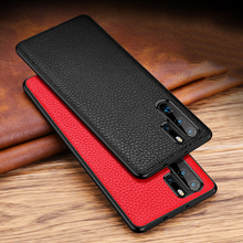 Ultra Slim Case For Huawei Honor 20 Pro P30 Pro Lite Mate 30 20 Pro X Luxury Genuine Leather Silicone Shockproof Back Case Cover