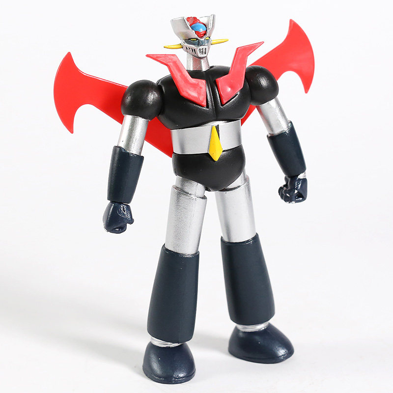 Mazin Go! <font><b>Mazinger</b></font> <font><b>Z</b></font> with Jet Scrander Die Cast Action <font><b>Figure</b></font> Colletcitble Model Toy image