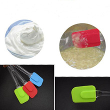 Creative Silicone Scraper Pastry Brushes Mixing Cooking Brush Butter Spatula Cream Rubbler Baking Tool Cake Utensil Kitchen Acc