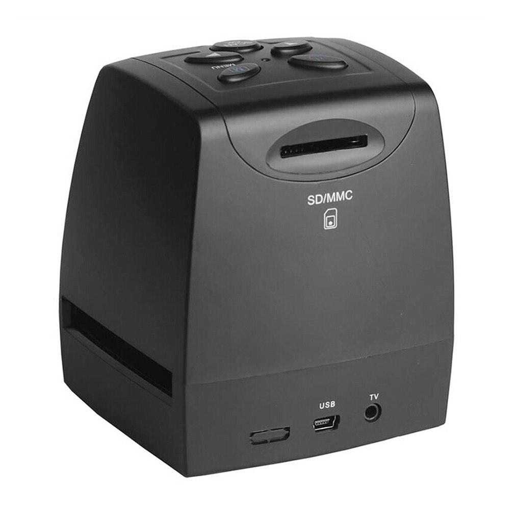 Мини 5MP 35 мм 135 мм сканер отрицательной пленки отрицательная слайд фото пленка преобразует USB кабель lcd Слайд 2,4