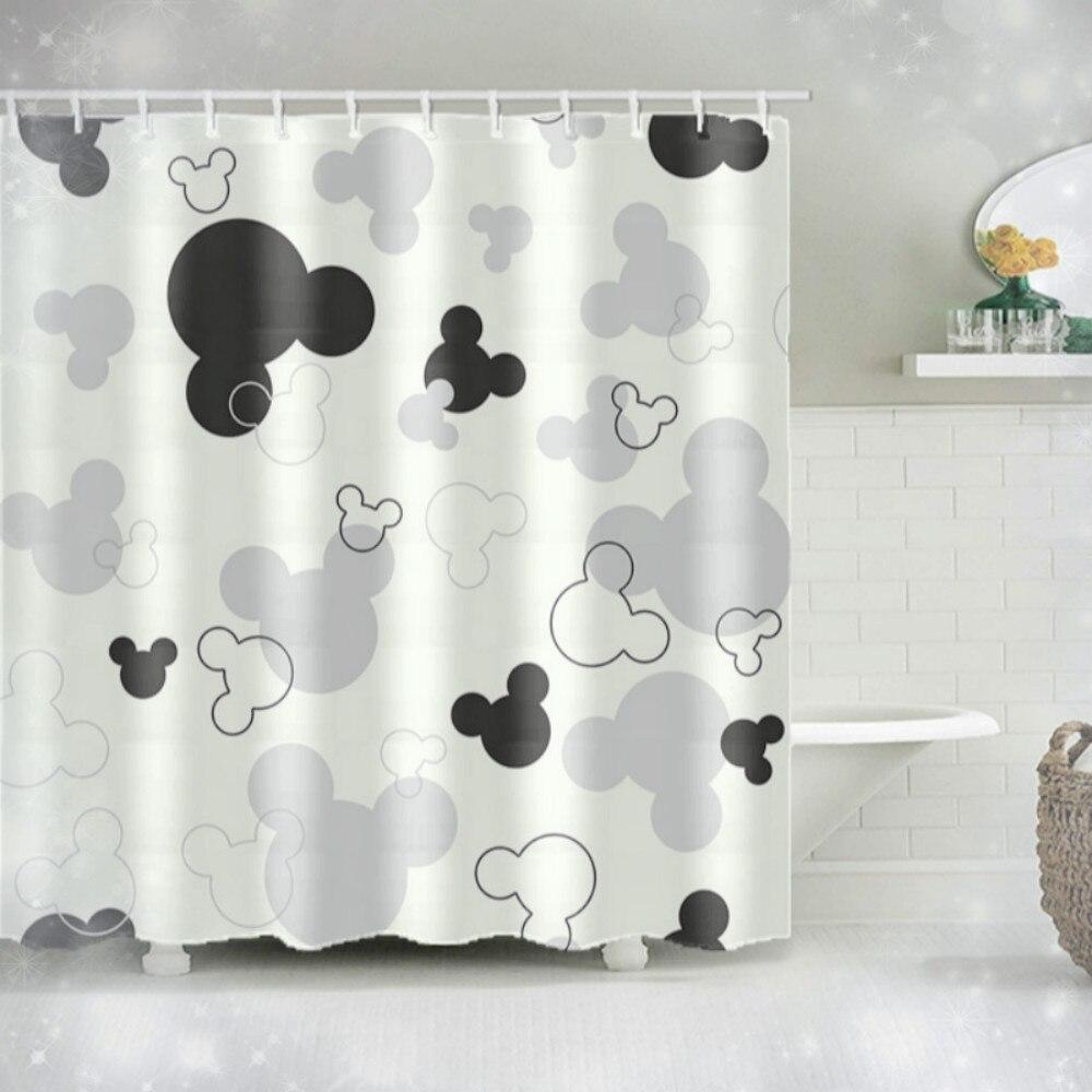 Микки занавески для душа коврик Декор сказочный мир дети девочка мальчик подарок ванная комната водонепроницаемые занавески для душа