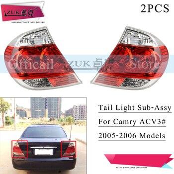 ZUK Pair Rear Taillight Taillamp Sub Asyy For Toyota CAMRY 2005 2006 2.4L ACV3# MCV30 Tail Light Tail Lamp Brake Lamp