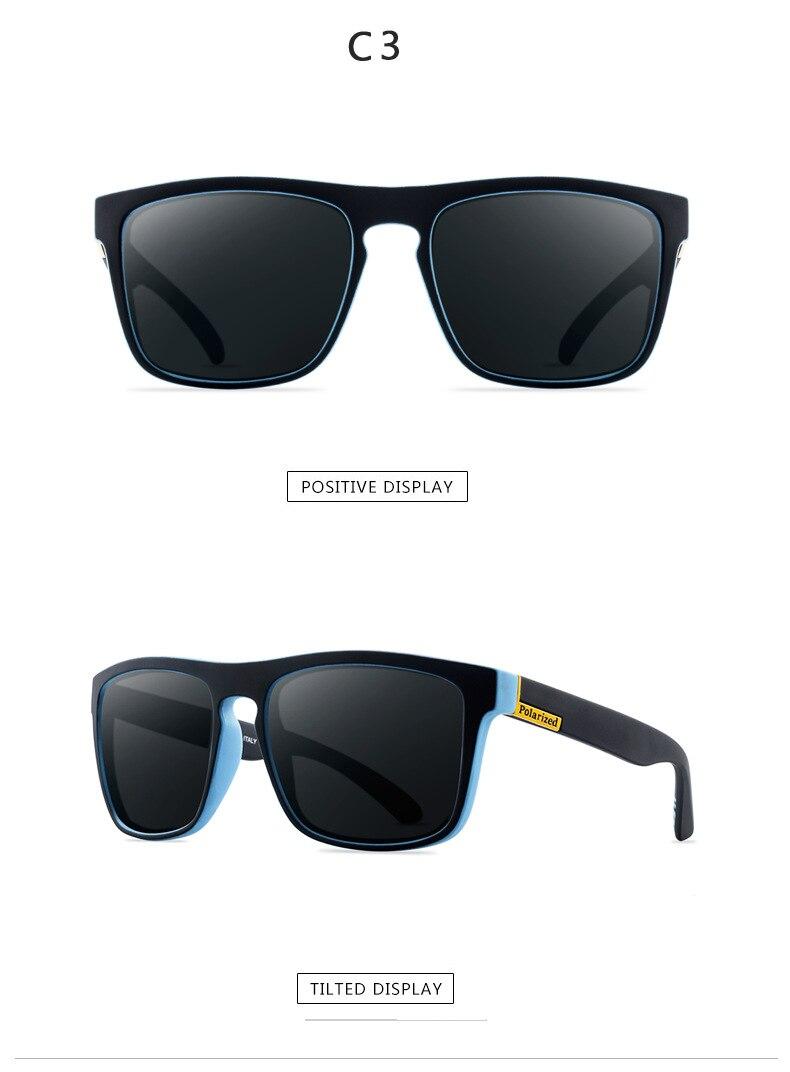 Новые поляризованные солнцезащитные очки мужские водительские оттенки мужские солнцезащитные очки для мужчин Ретро Дешевые Роскошные брендовые дизайнерские очки De sol UV400 - Цвет линз: 3