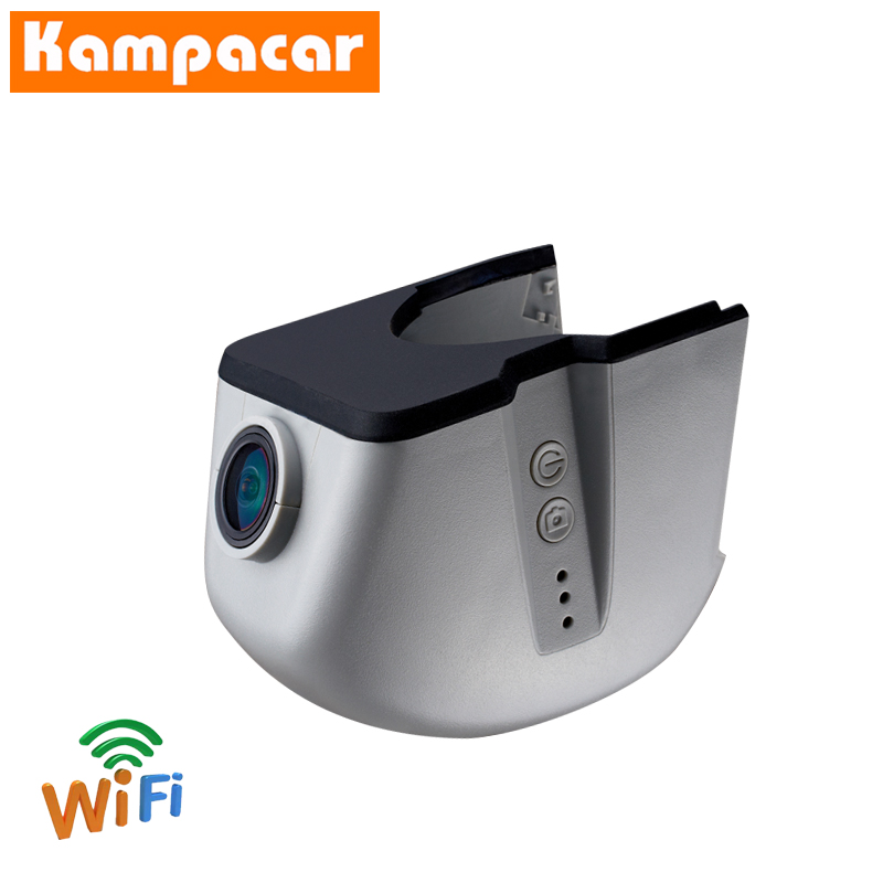 Kampacar WiFi Recorder Car Dvr Dash Cam Camera For Audi A4 A4L B7 A6 4F C6 2006 2007 B8 Q7 2008 A5 2009 2010 A3 2011 HD Car Dvrs