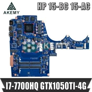 DAG35DMBAD0 Laptop motherboard for HP Pavilion 15-BC original mainboard I7-7700HQ GTX1050-4GB 914772-601
