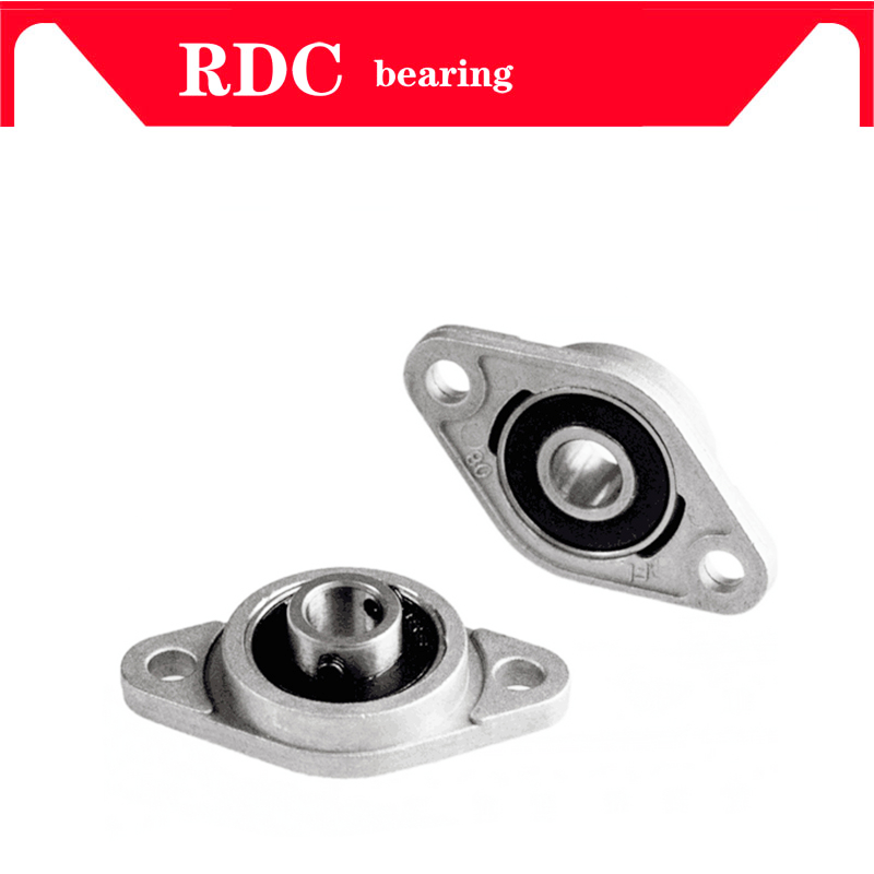 10PCS KFL000 KFL004 KFL005 KFL006 KFL08 KL08 FL08 08 8 12mm Pillow Block Rhombic Bearing ZINC Alloy Insert Linear Bearing Shaft