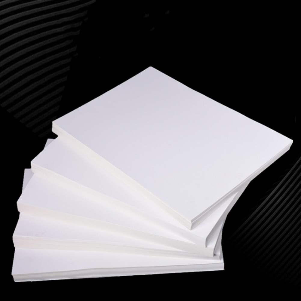 20 Pcs DIY A4 T Shirt Cloth Painting Easy Apply Image Ironing Bolster Light Fabric Pyrograph Heat Transfer Paper Vivid Color