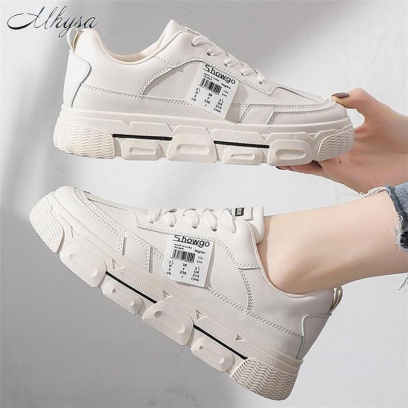 Mhysa 2020 Shoes Woman Sneakers Spring Autumn Trainers Women Designer Shoes Basket Femme Women Fashion Platform Casual Shoes