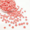 20g/lot Red White Lollipop Polymer Clay Sprinkles Colorful for DIY Crafts Tiny Cute bonbon Candy plastic klei Mud Particles