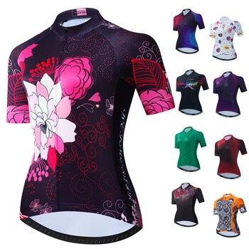 Maillot de Ciclismo para Mujer, Ropa para bicicleta de montaña o carretera,...