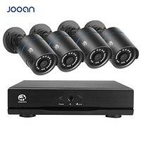 JOOAN 4CH 720P CCTV DVR Home Security Camera System Waterproof Outdoor Video Surveillance Kit
