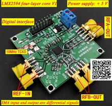 LMX2594 Frequency Synthesizer Development Board PLL Phase locked Loop 10M 15GHz High frequency Microwave Signal Source