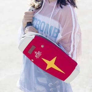 Image 3 - Harajuku mobil takım elbise japon animesi GUNDAM RX 78 2 kalkan Cosplay öğrenci okul bel postacı çantası kırmızı okul sırt çantası Prop