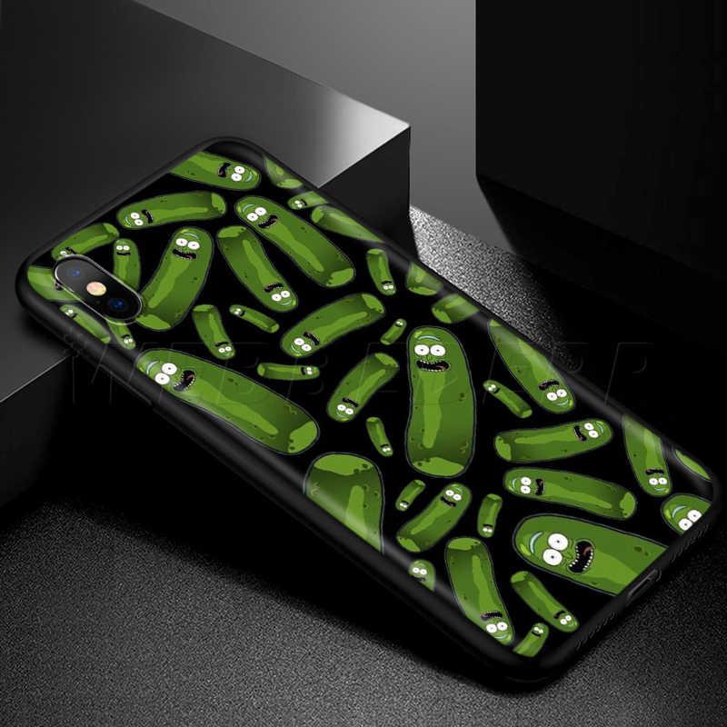 Webbedepp ريكي مورتي الفن الحال بالنسبة لابل آيفون 11 برو XS ماكس XR X 8 7 6 6S زائد 5 5s SE