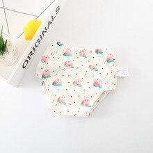 2020 Cute Babys Training Pants Baby Diapers Reusable Cloth Diaper Kids Washable Diapers Kids Underwear Diaper Change