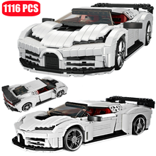 Creative High-Tech Classic Sports Racing Car Assembly Building Block Model MOC Supercar EB110 Brick Toys For Boys Holiday Gifts