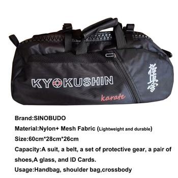 Professional Kyokushin Bag For Training Sport Bag Karate Lightweight Handbag  Multifunction Waterproof Backpacks
