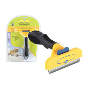 Shedding Comb Grooming-Tool Pet-Hair Dog-Cat-Brush Dogs Cats Stainless-Steel Large