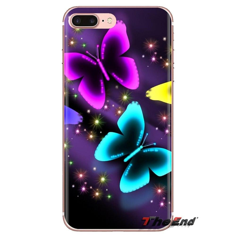 Butterfly Wallpaper Background Phone Cover Housing For Lg Spirit
