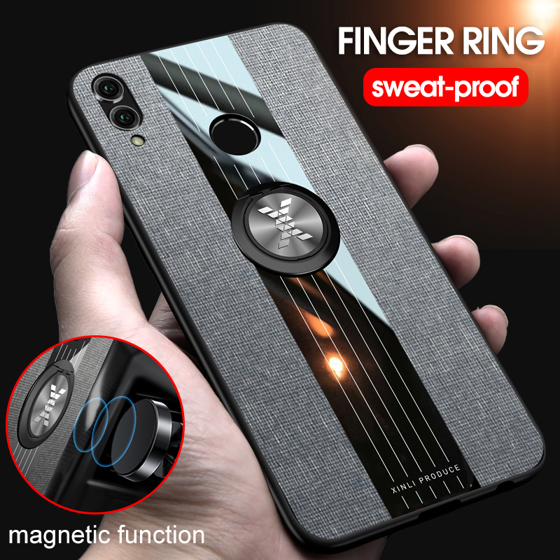 New 2019 Finger Ring Stand Car Holder <font><b>Case</b></font> <font><b>Honor</b></font> <font><b>8X</b></font> <font><b>Honor</b></font> <font><b>8X</b></font> <font><b>Max</b></font> Back Cover Shock-proof Phone <font><b>Case</b></font> For Huawei Honor8X <font><b>Honor</b></font> Play image