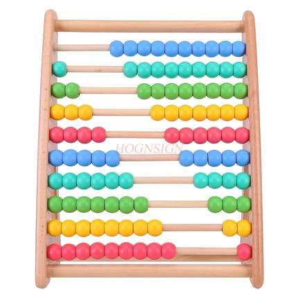 Children abacus stand calculation stand math arithmetic teaching aids abacus intelligence development early education toy