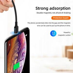 Image 5 - 5А 100 Вт, быстрая зарядка, кабель Type C для Samsung, 1,8 м, магнитный кабель Type C Type C для Huawei p20