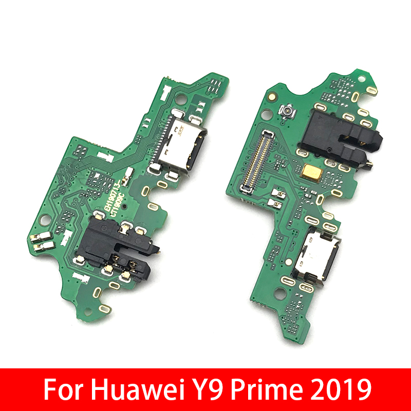USB Charging Port Dock Charger Plug Connector Board Flex Cable For Huawei Y9 Prime 2019